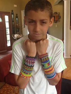 Good Day, Regular People blog - What you need to know about the Rainbow Loom - from Auggie, age 8.