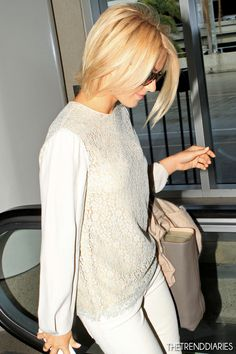 Julianne Hough at LAX Airport in Los Angeles, California - February 8, 2013