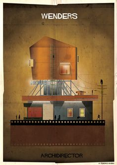 Gallery - ARCHIDIRECTOR: A Fantastical City Inspired by Famous Directors by Federico Babina - 19