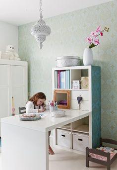 escritorio de ikea tuneado