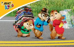 WIN! BIC Kids Alvin and The Chipmunks: The Road Chip prizes!