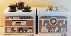 Kurashiki design mini kitchen Dumbo - Luvox (Oh - Bun pattern)