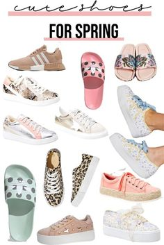 The best and cutest women's shoes for Spring and Summer fashion inspiration! #fashionblog #fashionblogger #shoes #summerfashion #springstyle