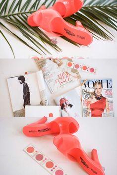 Coral, Nectarine, Tomato Red,  SEASONAL ENSEMBLES Music Radio, Personal Style, Autumn Fashion, Coral, Red, Fall Fashion