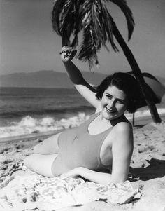1931-Girl, Hermosa Beach by ozfan22, via Flickr