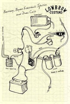 cafe racer wiring turn signals cb750 research lowbrow customs motorcycle wiring diagram boyer electronic ignition and dual coils