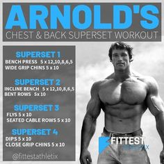Must see workout plans which are truly sensible for novices, both gents and female to tone up. Read the smart workout pinned image reference 8642673320 today. Back Superset Workout, Back Workout Men, Gym Workout Chart, Gym Workout Tips, Arnold Back Workout, Workout Plans, Workout Routines For Men, Bodybuilder, Arnold Schwarzenegger Workout