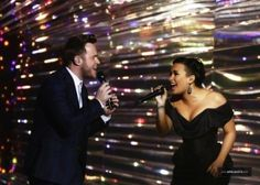"Demi Lovato & Olly Murs perform ""Up"" live on X Factor UK"