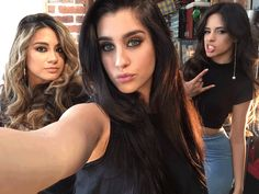 Here's what happened when Fifth Harmony took loads of selfies on Sugarscape's phone  - Sugarscape.com
