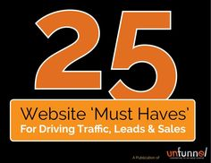 You know how important a website is to your online business strategy, hopefully everyone does at this point. \n\nBut what does it really take to have a great website design that drives traffic, generates leads and boosts revenue? \n\nThis 25-step swipe file is the ultimate startup resource to building a killer website, blog or campaign microsite. \n\nWhat you\'ll learn: \n1. How to get found online with search engine optimization (SEO), including link building, meta tags, and more \n2. Im...