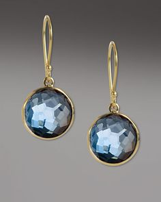 Mini Lollipop Earrings by Ippolita at Neiman Marcus.