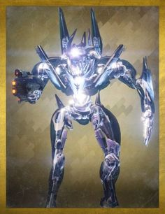 Atheon (Vault Of Glass) Destiny Video Game, Destiny Bungie, Cool Robots, Alien Art, Love Games, Sci Fi Characters, Art And Technology, Sci Fi Art, Golden Age