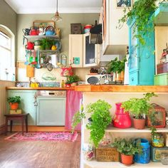 Top Ideas to Get Boho Style Kitchen | Hippie Boho Gypsy