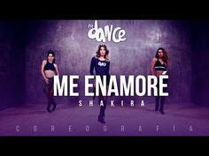 "Shakira ""Me Enamore"" Zumba Choreography Video Zumba Workout Videos, Zumba Videos, Choreography Videos, Gym Workouts, Zumba Fitness, Dance Fitness, Shakira, Musica Latina, Work Out Routines Gym"