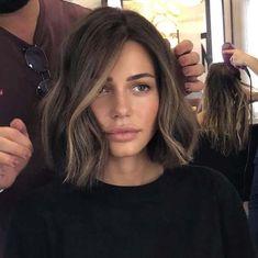Balayage Brunette, Balayage Hair, Medium Hair Styles, Short Hair Styles, Cool Hair Color, Pretty Hairstyles, Trending Hairstyles, Big Hair, Hair Looks