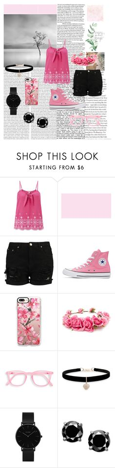 """""""Cute Combination"""" by kbelle28 ❤ liked on Polyvore featuring Monsoon, Converse, Casetify, Forever 21, Betsey Johnson and CLUSE"""