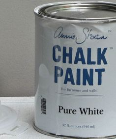 Annie Sloan Chalk Paint Pure White.