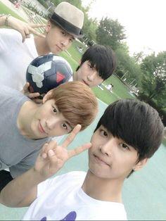 Leo Ravi Hongbin n vixx ♡♡#cute