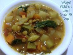 Crock Pot Vegetable Soup Weight Watchers - Just 2 Sisters