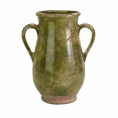 Roman Tall Vase with Handles