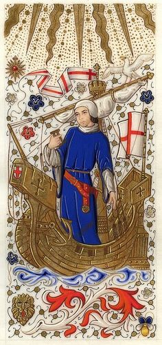 Authentic or modern? Modern - exceptionally well executed modern, but modern. Check out this guy's album - his work is magnificent, and seems very true tot he medieval illumination style.