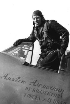 USSR ace Alexey Alelyukhin with 40 individual victories and 17 shared.