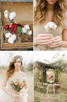 Rustic + Whimsical Fall Wedding Inspiration - Belle the Magazine . The Wedding Blog For The Sophisticated Bride