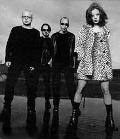 Garbage - Steve Marker, Butch Vig, Duke Erikson and Shirley Manson