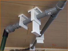 Übergang HT Rohr an Festool Schlauch mit Übergangsmuffe DN75/50