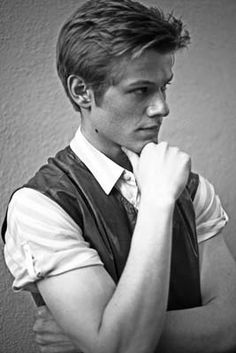 It's Lucas Till, and he's doing the ISTJ thing.