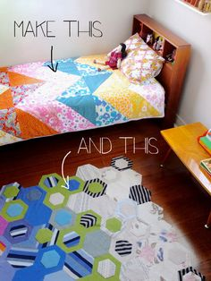 Duvet cover and rug