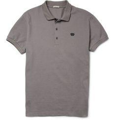 Bottega VenetaCotton-Piqué Polo Shirt