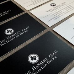 Lawyer / Law Office logo and business card design.
