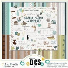 FREEBIE : DrF4les2C-CE2lins-et-Sinceres - Free-digiscrap.com : le digiscrap gratuit ! The free digiscrap resource !