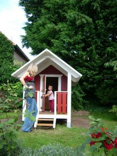 Nordic red play house