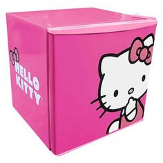 Hello Kitty Compact Refrigerator - Pink (1.8 CuFt).Opens in a new window @ Target I WANT THIS!!!