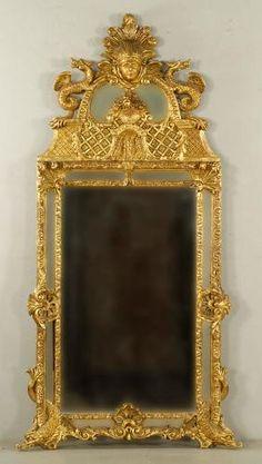 5202 - C. English Gilt Wood Mirror On Site Auction Under Large Tent Mantle Mirror, Trumeau Mirror, Wood Mirror, Mirror Mirror, West Palm Beach, Fine Furniture, Antique Furniture, Asian Furniture, Fancy Mirrors