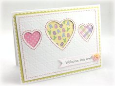 Welcome Little One Greeting Card - BABY 006. $2.50, via Etsy.