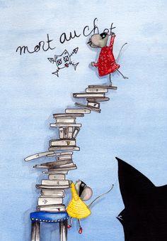 Livres. Cécile Laplaige Aquarelle