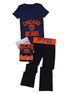 da bears. Pink!!... best pants in the world very comfy!!