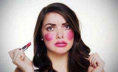10 Señales de que estas utilizando demasiado maquillaje