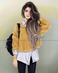 Resultado de imagen para chicas hipster dibujo