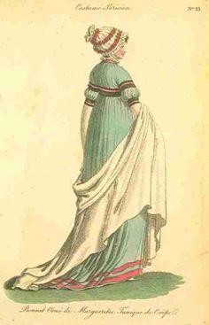 Journal des Dames et des Modes (Published in Fashions of London and Paris), September 1799.