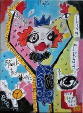 BREAK THE CHAINS by Poete Maudit, outsider art, brut, expressionism, CANADIAN