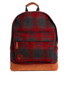 Image 1 ofMi-Pac Plaid Backpack
