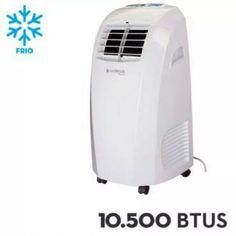 ar condicionado portátil cadence 10.500 btus