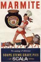 Scala Archives Code: H640719  Artist: ********  Title: Marmite advert, 1946.