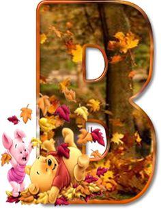 Winnie fall letters B