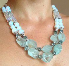 Aqua-Quartz Necklace