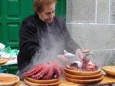 N.... Pulpo da feira. Galicia España.